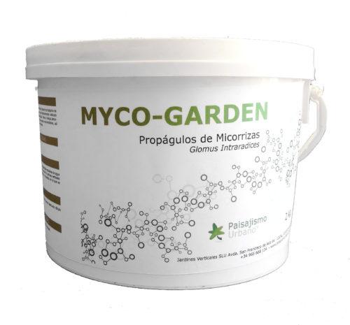Fortalece el sistema radicular de tu jardín vertical con las Micorrizas Myco-Garden de Paisajismo Urbano